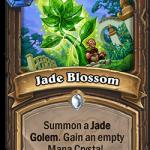 空のマナクリスタルを手に入れてゴーレム召喚の「Jade Blossom」面白そうwww ⇒ 「上級者はデッキに入れず1ターン目ワタリガラスから持ってくる!」