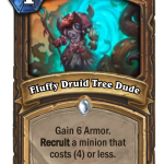 【新カード】すまん強くないかこれ ⇒ 効果は強いけど今のドルイドとはかみ合わせが悪いな